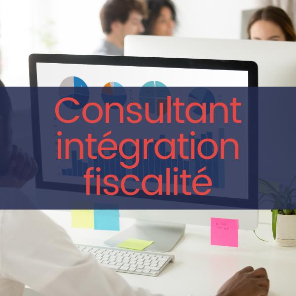 Consultant intégration fiscalité H/F