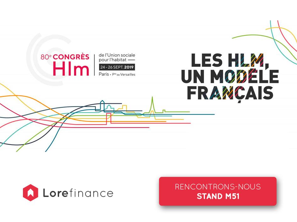 Visuel Congrès HLM 2019 x Loré